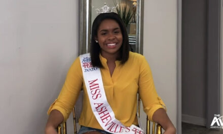 Miss Asheville's Outstanding Teen speaks with The Asheville View